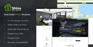 Shina – Property Sale and Rent HTML Template
