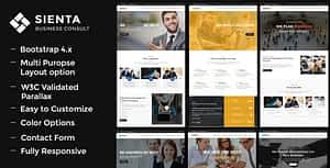 Sienta – Business and Corporate WP Theme