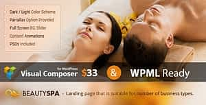 Spa – WordPress Theme with Page Builder