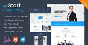 Start – Onepage Consultancy HTML Template
