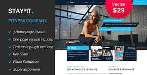 Stayfit | Gym & Fitness WP Theme