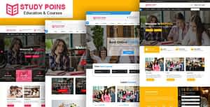 Study Points – Education HTML Template