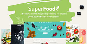 Superfood – Organic Food Products Theme