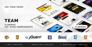 Team – Soccer, Football, Hockey, Basketball Club & eSport HTML Template
