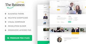 The Business – WP Business & Corporate Theme