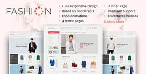 The Fashion – eCommerce Shop HTML Template