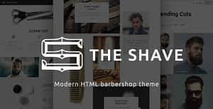 The Shave | BarberShop – Clean Cut HTML Template
