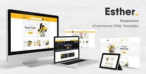 Tools & Accessories Store HTML Template – Esther