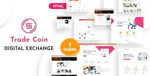 Trade Coin – Digital Exchange HTML Template