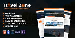 Travel Zone – Tour and Travel Agency HTML5 Template