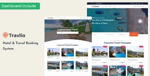Travlio – Tour & Hotel Booking HTML Template