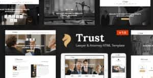 Trust – Lawyer & Attorney Business HTML Template