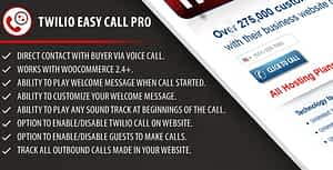 Twilio Easy Call Pro WordPress Plugin