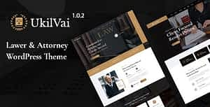 Ukilvai – Lawyer & Attorney WordPress Theme