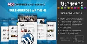 Ultimate Multipurpose Responsive WordPress Theme