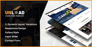 Unload – Cargo, Shipping, Warehouse & Transport HTML5 Responsive Website Template