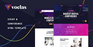 Voelas – Event & Conference HTML Template