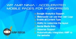 WP AMP Ninja – Accelerated Mobile Pages for WordPress