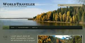 WP World Traveler – Travel WordPress Theme