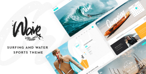 WaveRide – Surfing and Water Sports Theme