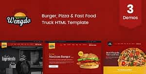 Wengdo – Fast Food HTML Template