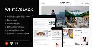 WhiteBlack – A Responsive WordPress Blog Theme
