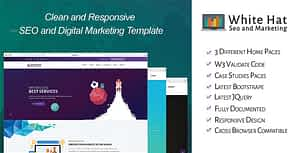 WhiteHat – SEO and Digital Marketing Template