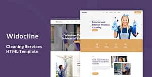Widocline – Professional Window Cleaning Services HTML Template