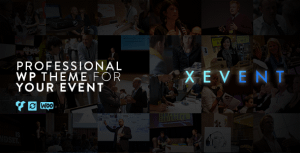 XEvent – Event & Conference WordPress Theme