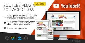 YouTubeR – Unique YouTube Video Feed & Gallery Plugin