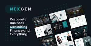 Nexgen – Business & Consulting HTML Template