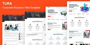 Tura – Corporate Business HTML Template