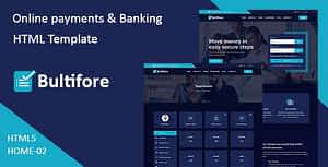 Bultifore – Online Payment & Banking HTML Template