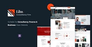 Libo – Consulting Business HTML Template