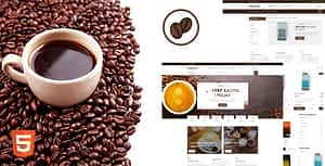 Nescafew – Coffee Shop HTML Template