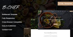 B-Chef – Restaurant HTML Template
