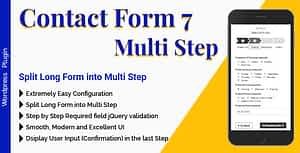 Contact Form 7 Multi Step – Split Long Form into Multi Step