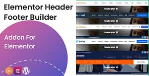 Elementor Header Footer Builder – Addon