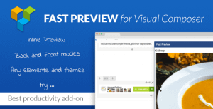 Fast Preview for Visual Composer – Best Productivity Add-on