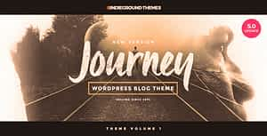 Journey – Personal WordPress Blog Theme
