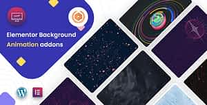 MarvyPro – Background Animations for Elementor