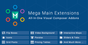 Mega Main Extensions – All-in-one Visual Composer Addons
