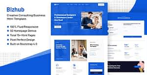 Bizhub – Consulting Business HTML Template