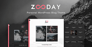 Zunday – Personal WordPress Blog Theme