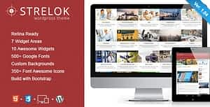 Strelok – Retina Responsive WordPress Blog Theme