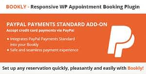 Bookly PayPal Payments Standard (Add-on)