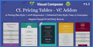 CL Pricing   Pricing Table – VC Addon