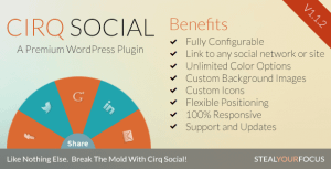 Cirq Social and Feature Linking for WordPress