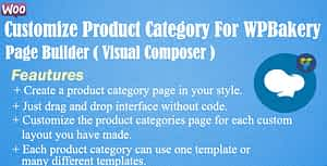 Customize Product Category For WPBakery Page Builder (Visual…