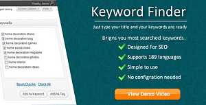 Keyword Finder for WordPress